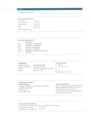 Eisenmetall Lieferprogramm Automaten Edelstahl