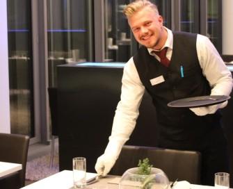 Christopher Baum, Auszubildender Restaurantfachmann, Gästecasino Essen
