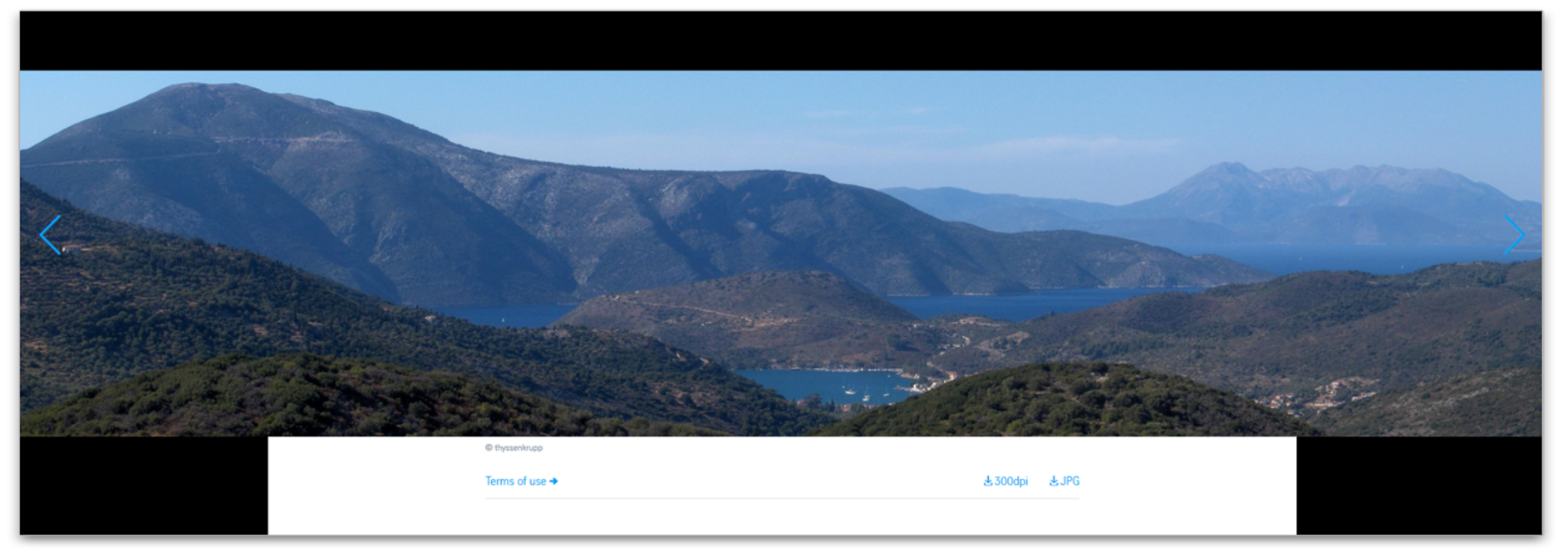 Image Panorama - Modulansicht