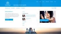 Homepage Big Stage: Vermaßung Desktop - Navi