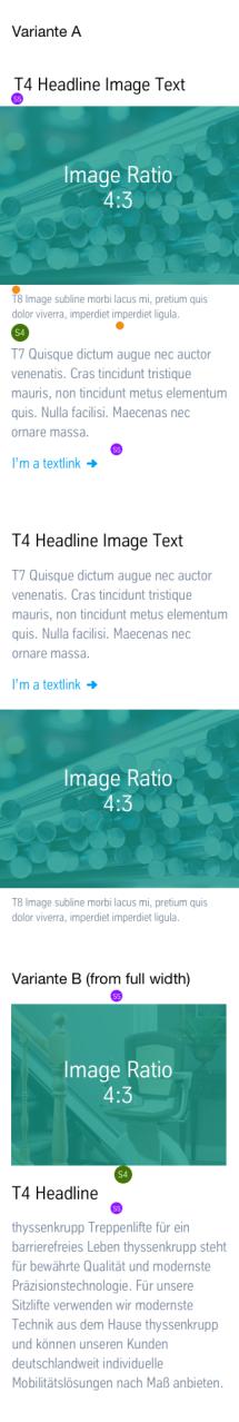 Text + Image: Vermaßung Mobile