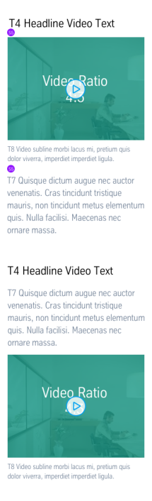 Text + Video: Dimensioning Mobile