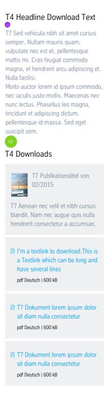 Text + Downloads: Vermaßung Mobile