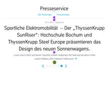 Press Teaser Slider: Dimensioning Tablet