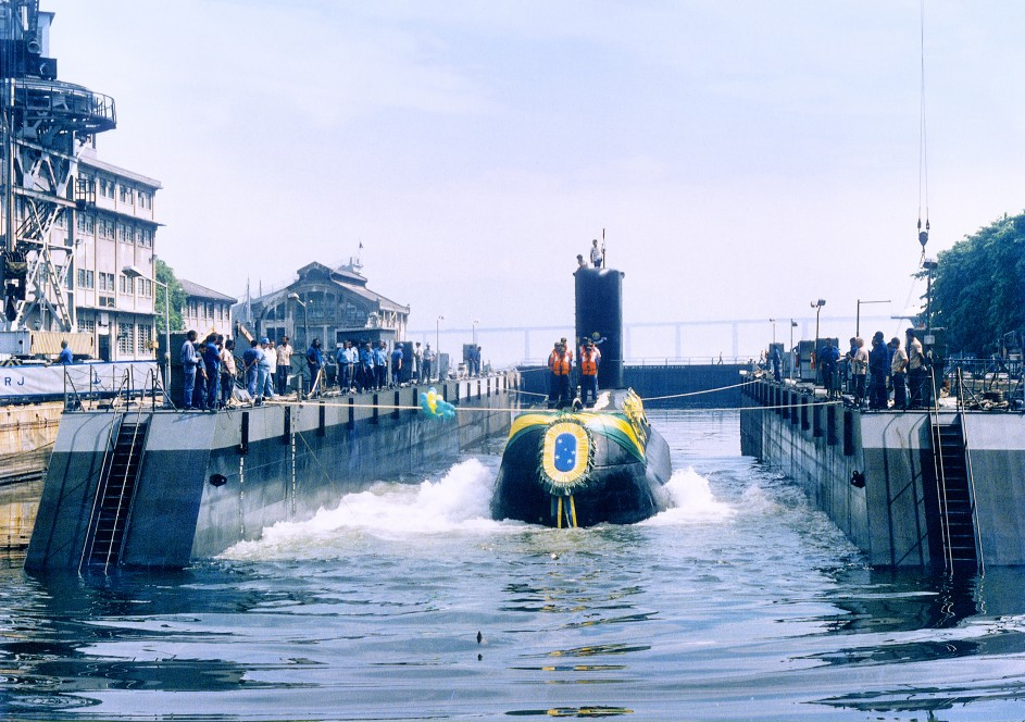 tupi class submarine Brazilian Navy U-209 HDW thyssemkrupp Marine Systems