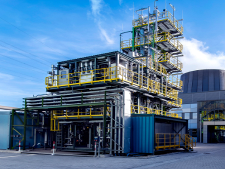 Milestone for climate protection: Carbon2Chem pilot plant opened
