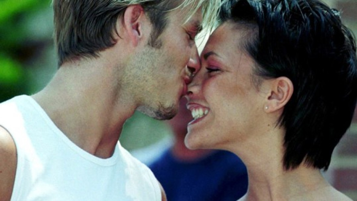 Another dream couple: That year, professional soccer player David Beckham marries his great love, Spice Girl Victoria Adams.