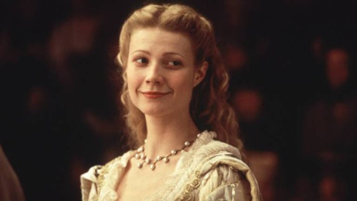 Gwyneth Paltrow receives the Oscar for Best Actress for the movie 'Shakespeare in Love'.