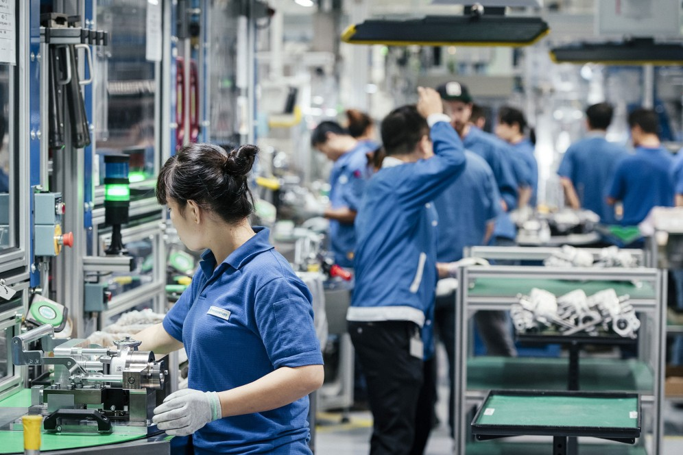 At its Chinese site in Changzhou, thyssenkrupp manufactures an extensive automotive portfolio including steering systems, valve trains and camshafts