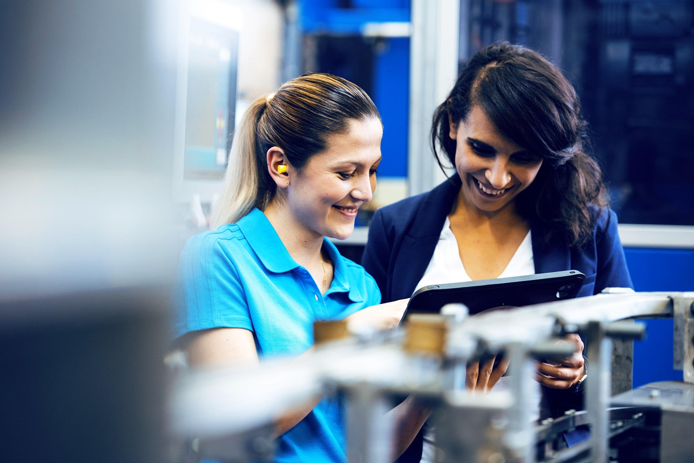 Frauen in technischen Berufen: mit gezielter Unterstützung kommt man weiter