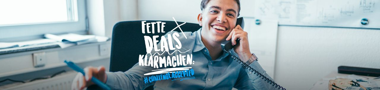 Fette Deals klarmachen: mit einer kaufmännischen Ausbildung bei thyssenkrupp