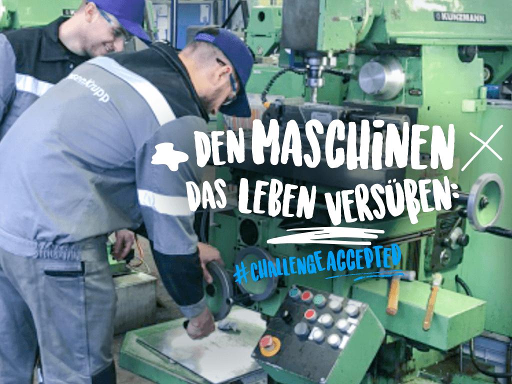 Technische Ausbildung als Industriemechaniker bei thyssenkrupp Steel Europe