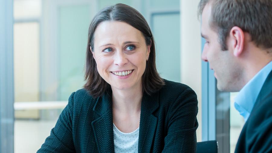 Annett Nagel erzählt von ihrer Arbeit als Senior Program Managerin
