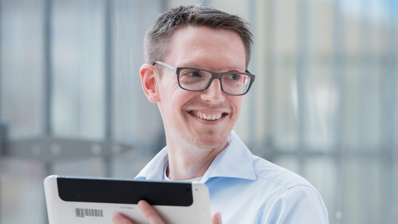 Daniel Rist erzählt von seiner Arbeit als Program Manager IT