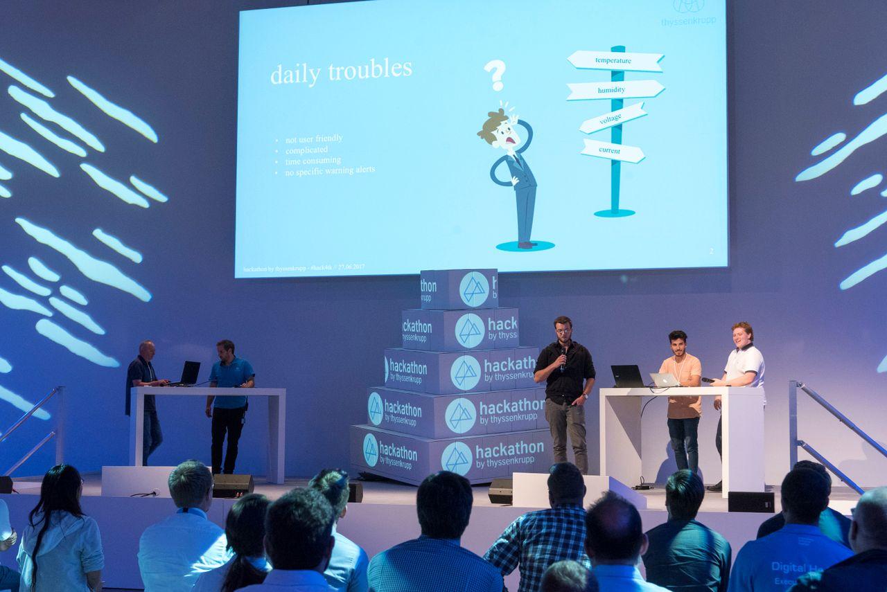 Hackathon #hack4tk: Innovationen in 24 Stunden