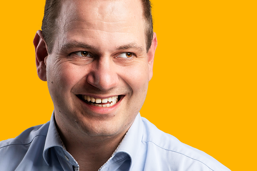 Christian März genießt Offenheit und Innovationsgeist bei thyssenkrupp.