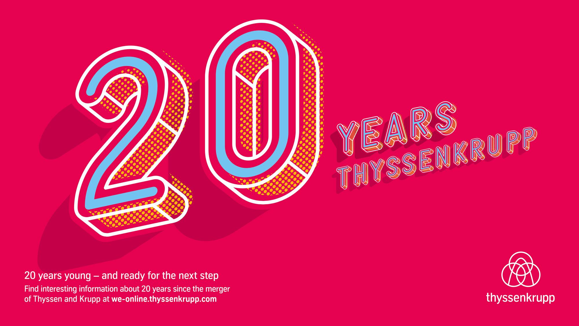 engineered-Artikel über das Jubiläumsjahr der Fusion von Thyssen und Krupp