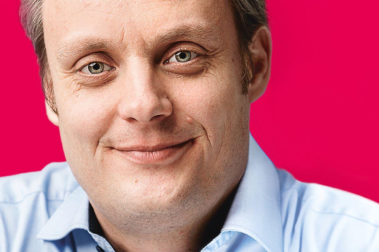 Innovation Manager Andreas Meschede geht Projekte spielerisch an.