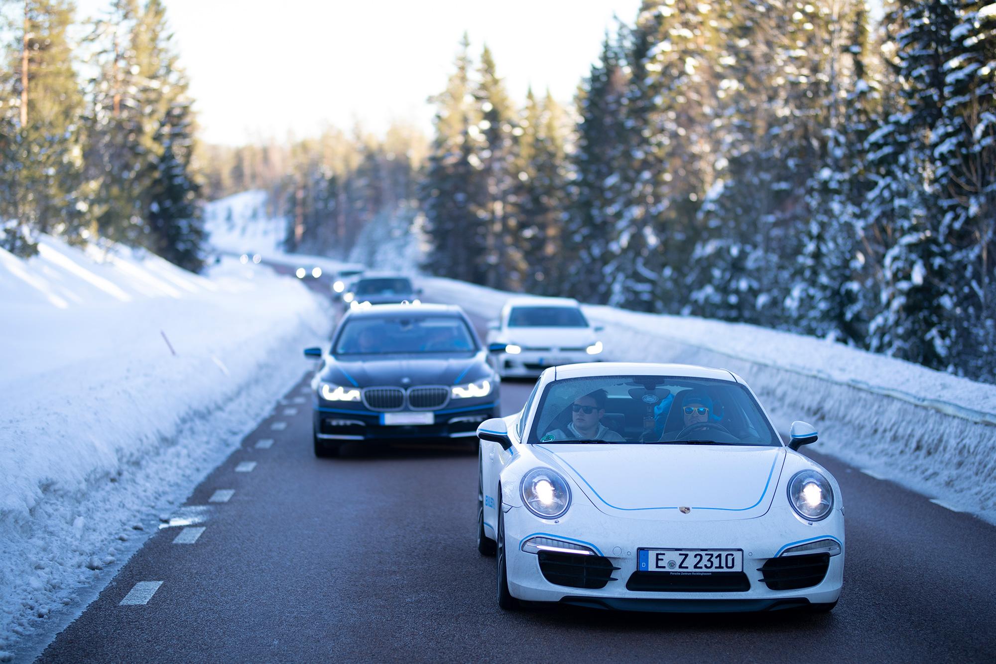 Endurance testing of automotive developments