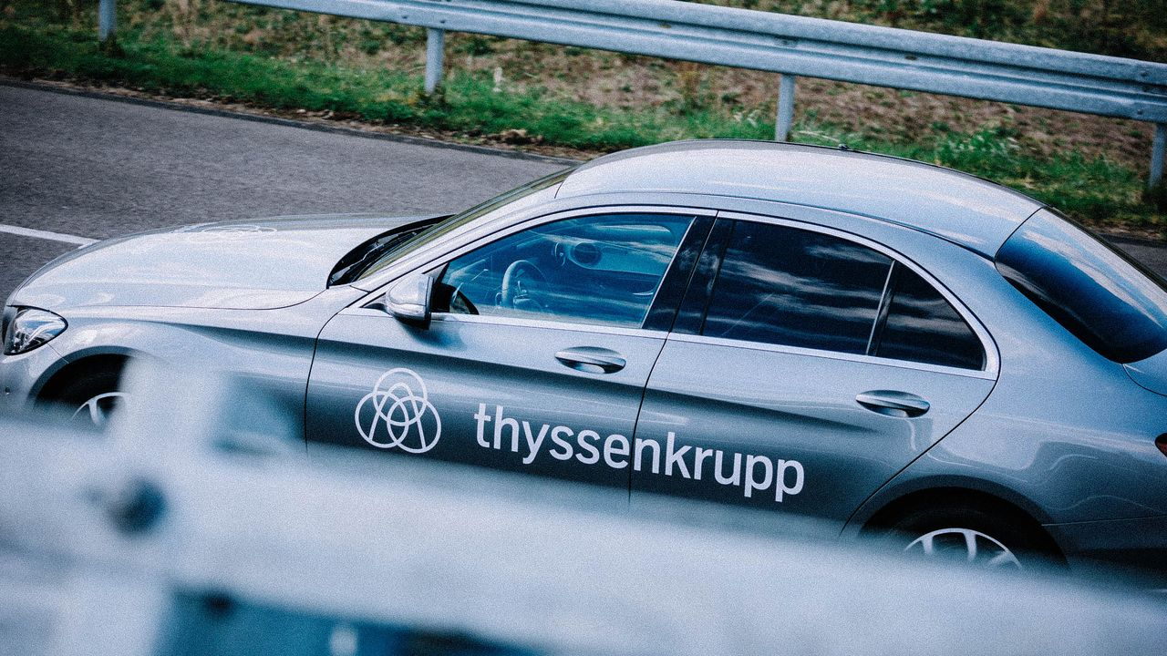thyssenkrupp is working on the vision of autonomous driving.