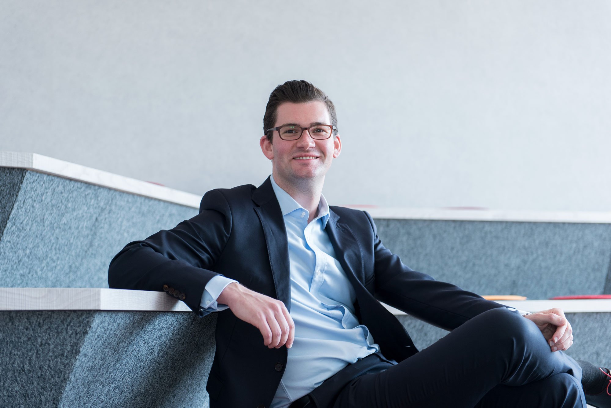 Phil Pezus has advanced from trainee to CFO in record time.