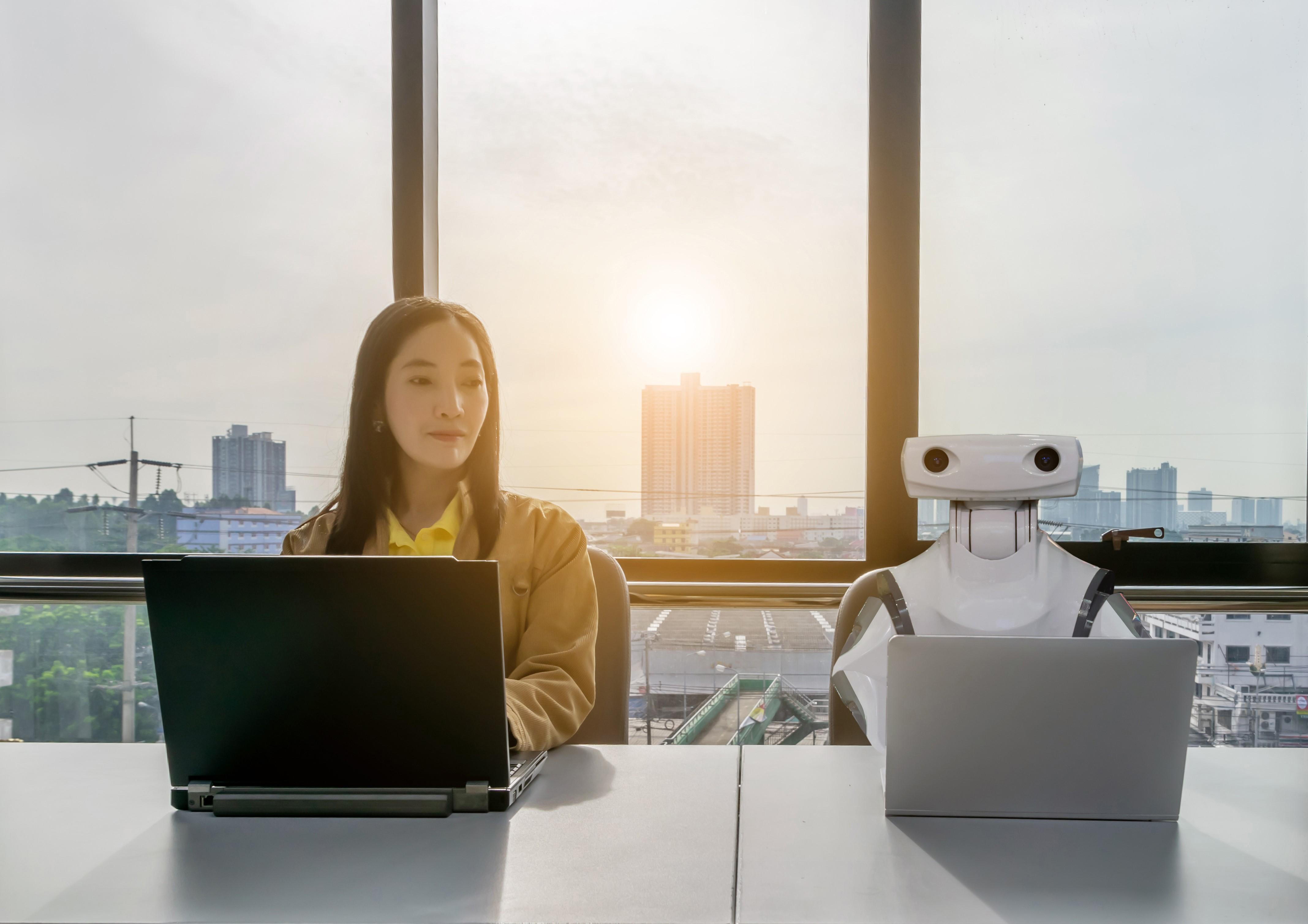 Future of work: Robo efficiency beats human creativity?