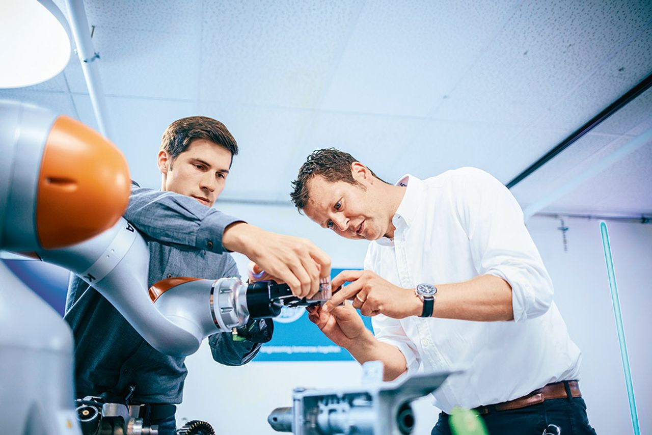 Rapid prototyping: Robots with feeling