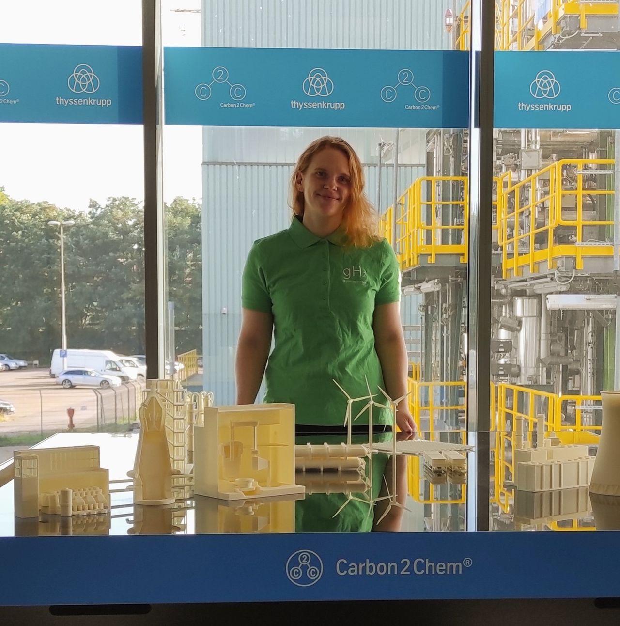 Ramona Gatkowski - Development Engineer bei thyssenkrupp