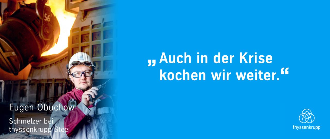 Großartige Teamarbeit in Duisburg: Alle tun ihr Bestes, um die Anlage am Laufen zu halten.