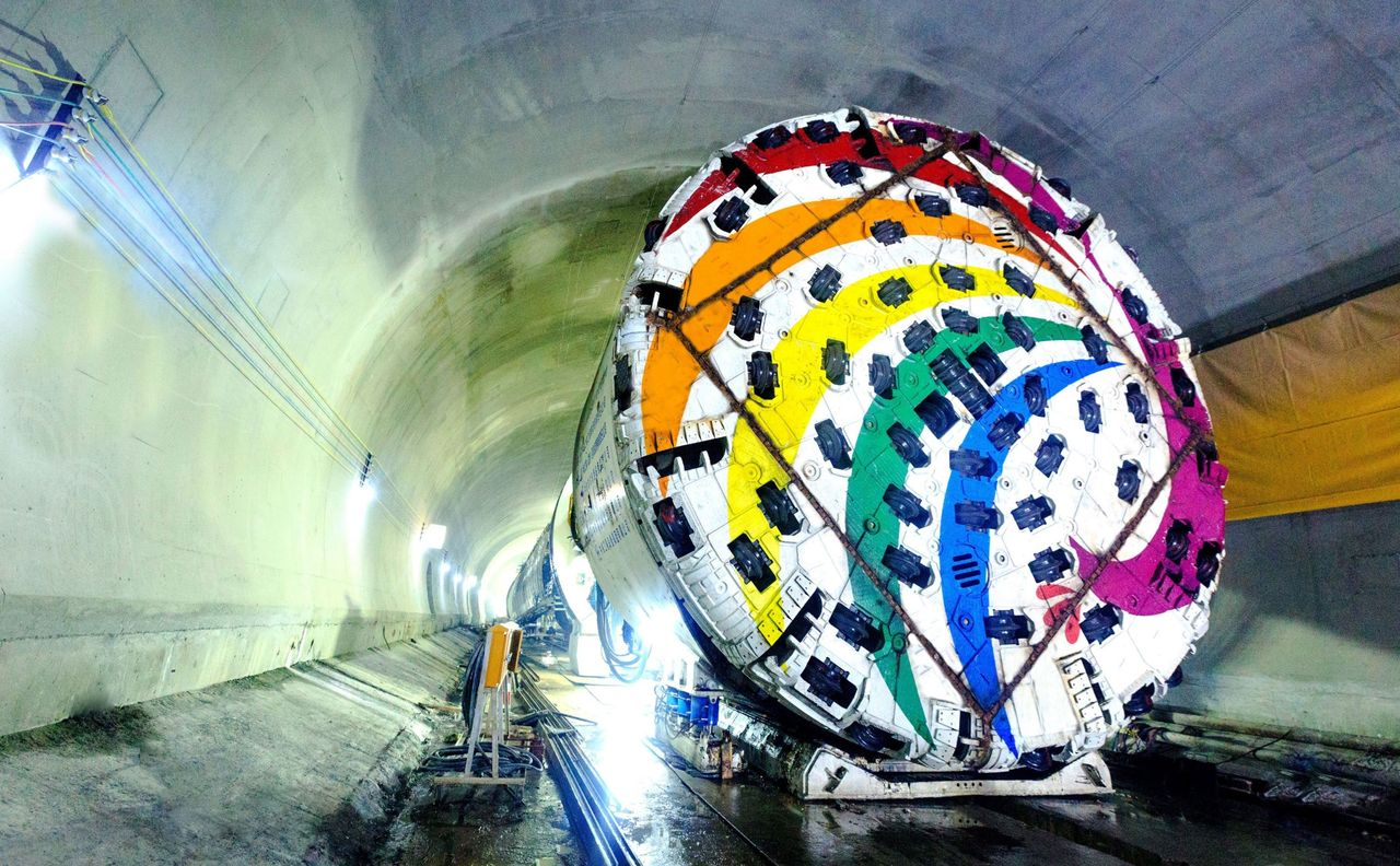 Slewing Bearings in Tunnel Boring Machines – Keeping the World Turning