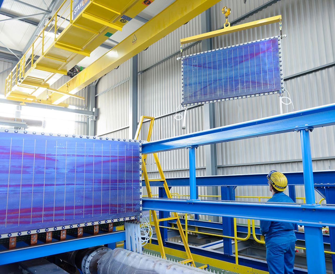 Modul Wasserelektrolyse Uhde Chlorine Engineers