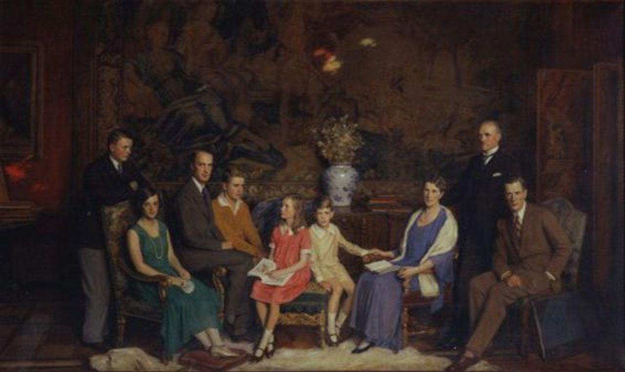 The Krupp family von Bohlen und Halbach, 1931