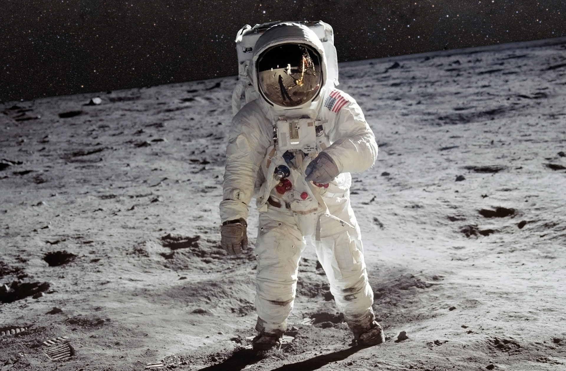 """On July 20, 1969, American astronauts Neil Armstrong and Edwin """"Buzz"""" Aldrin were the first humans ever to enter the moon's surface. Which places in the infinite expanses do mankind await next?"""