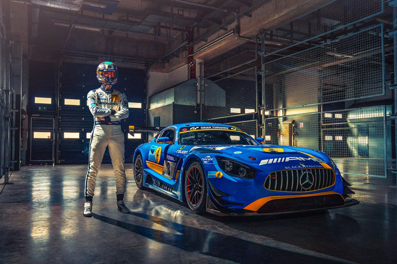 Two years ago, racing ace Manuel Metzger won the 24h race at the Nürburgring for his AMG team BLACK FALCON.