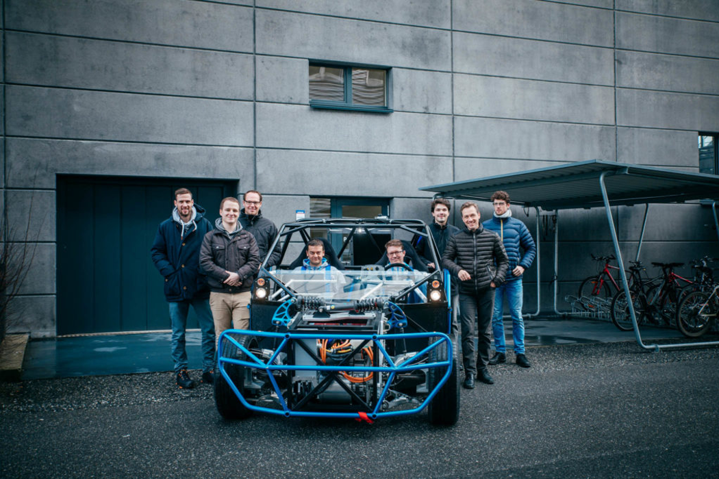 The team that designed the mobile research platform has a clear goal – to develop technology for the chassis of the future.