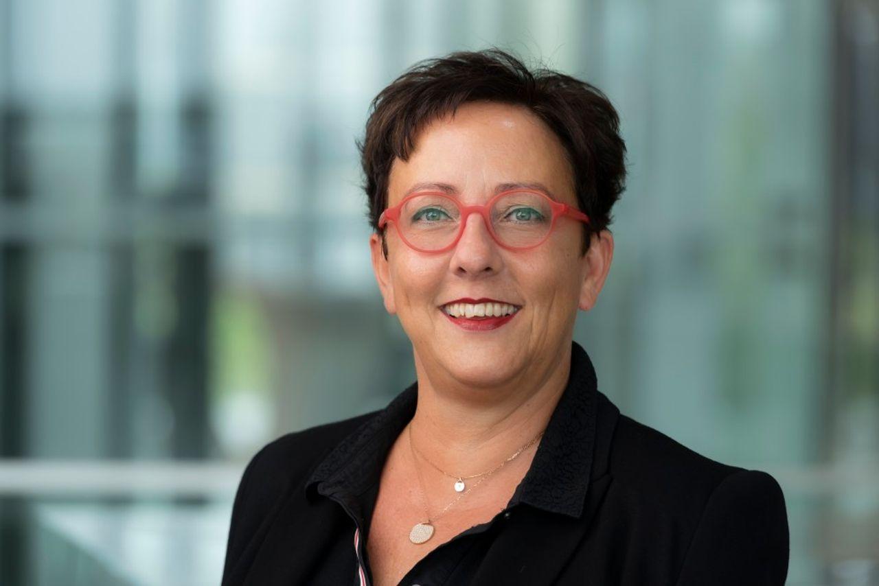 Archivbild: Seit 18 Jahren ist Dr. Anja Berkenfeld im Bereich Arbeitssicherheit und Gesundheitsschutz von thyssenkrupp tätig.