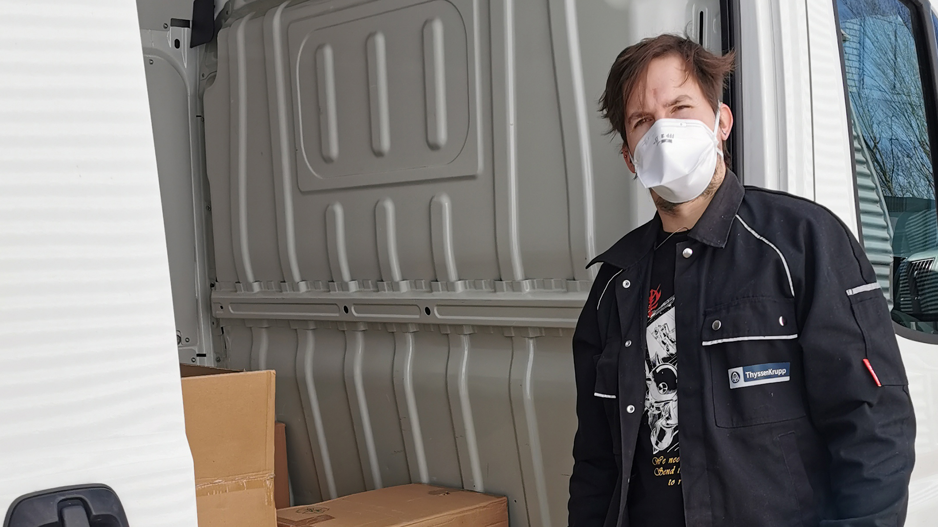Plant Technology donates and supplies breathing masks to hospitals in Dortmund and the surrounding area.
