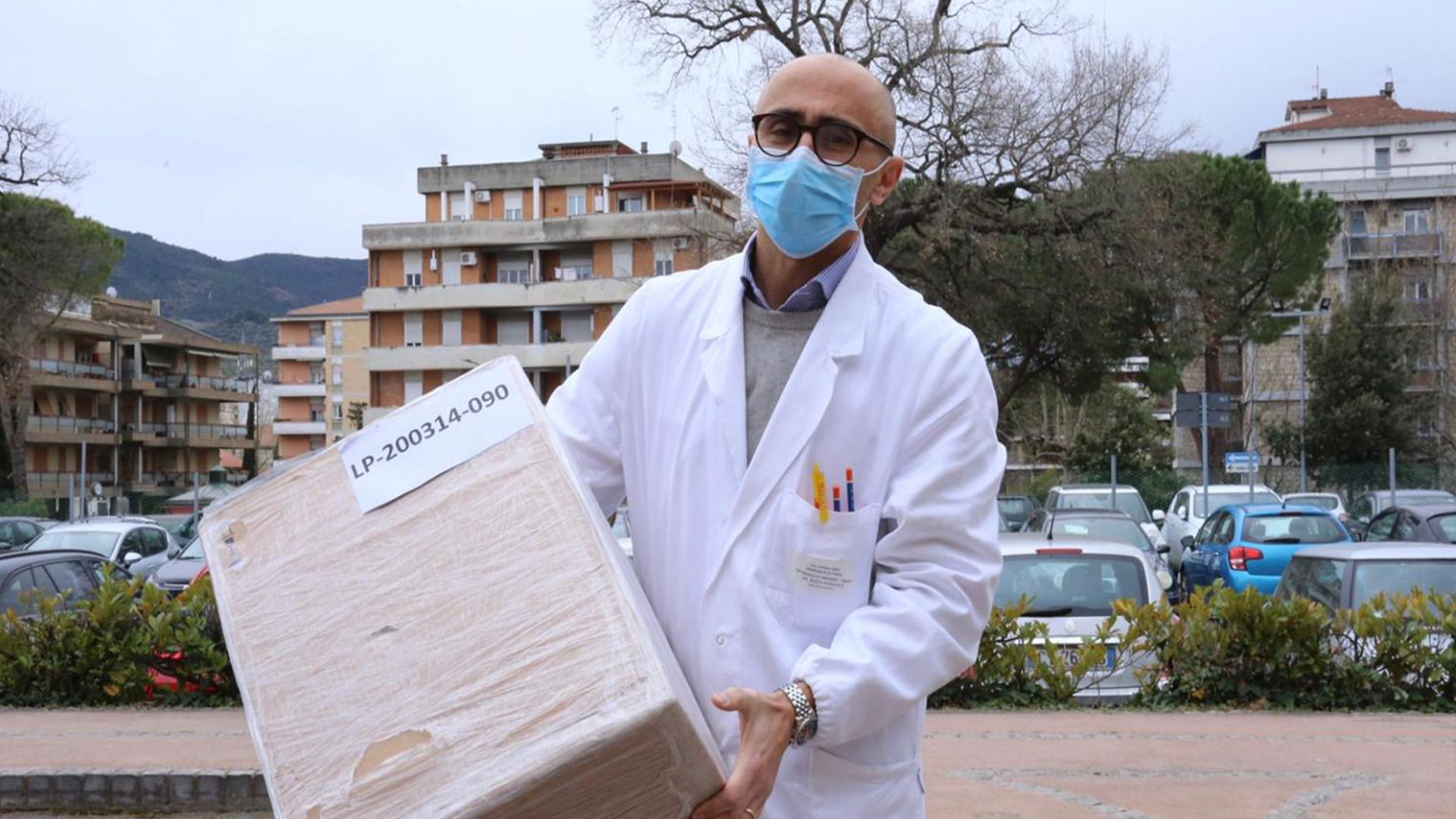 Donations like those of the Terni team are helping to contain the Corona pandemic.