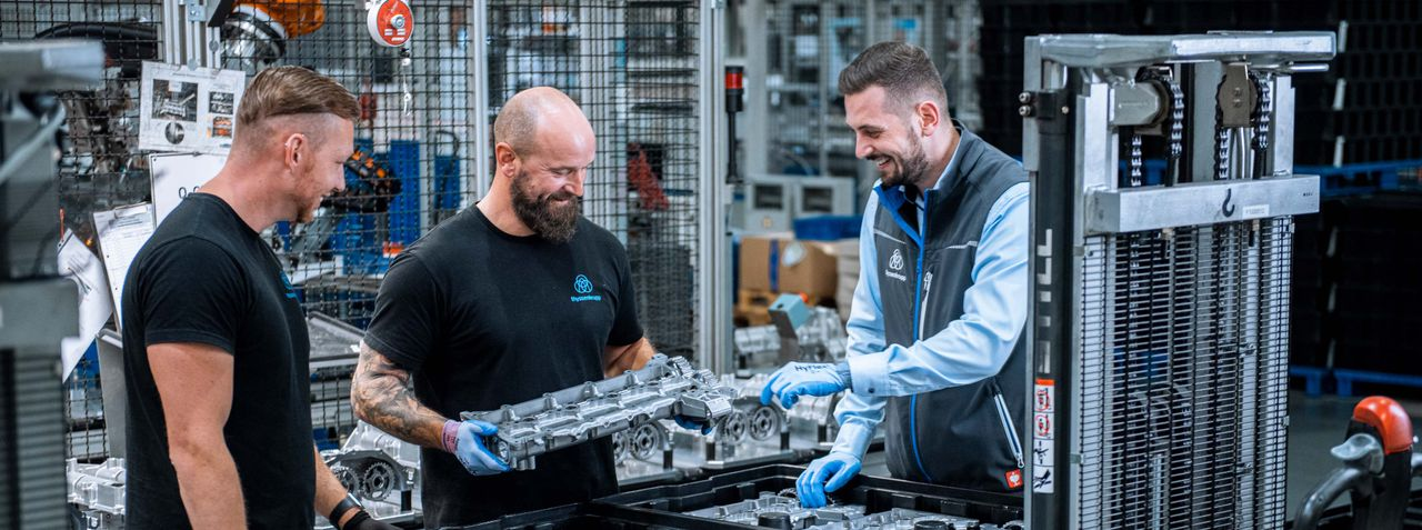 Karriere bei thyssenkrupp Dynamic Components