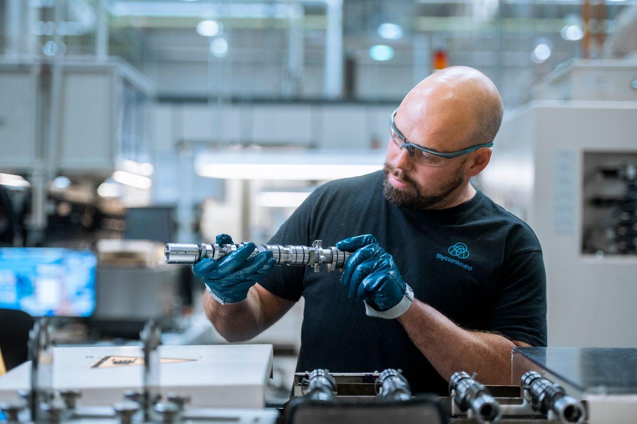 thyssenkrupp Camshafts assembled camshafts for trucks, passenger cars and motorcycles