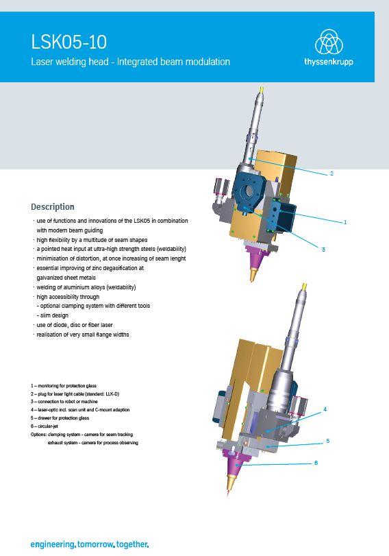 Laser clamp head LSK05-10