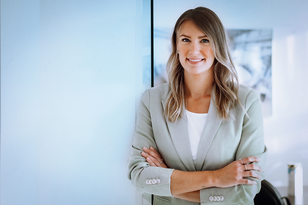 Jana Berning, Leiterin Marketing & Communications
