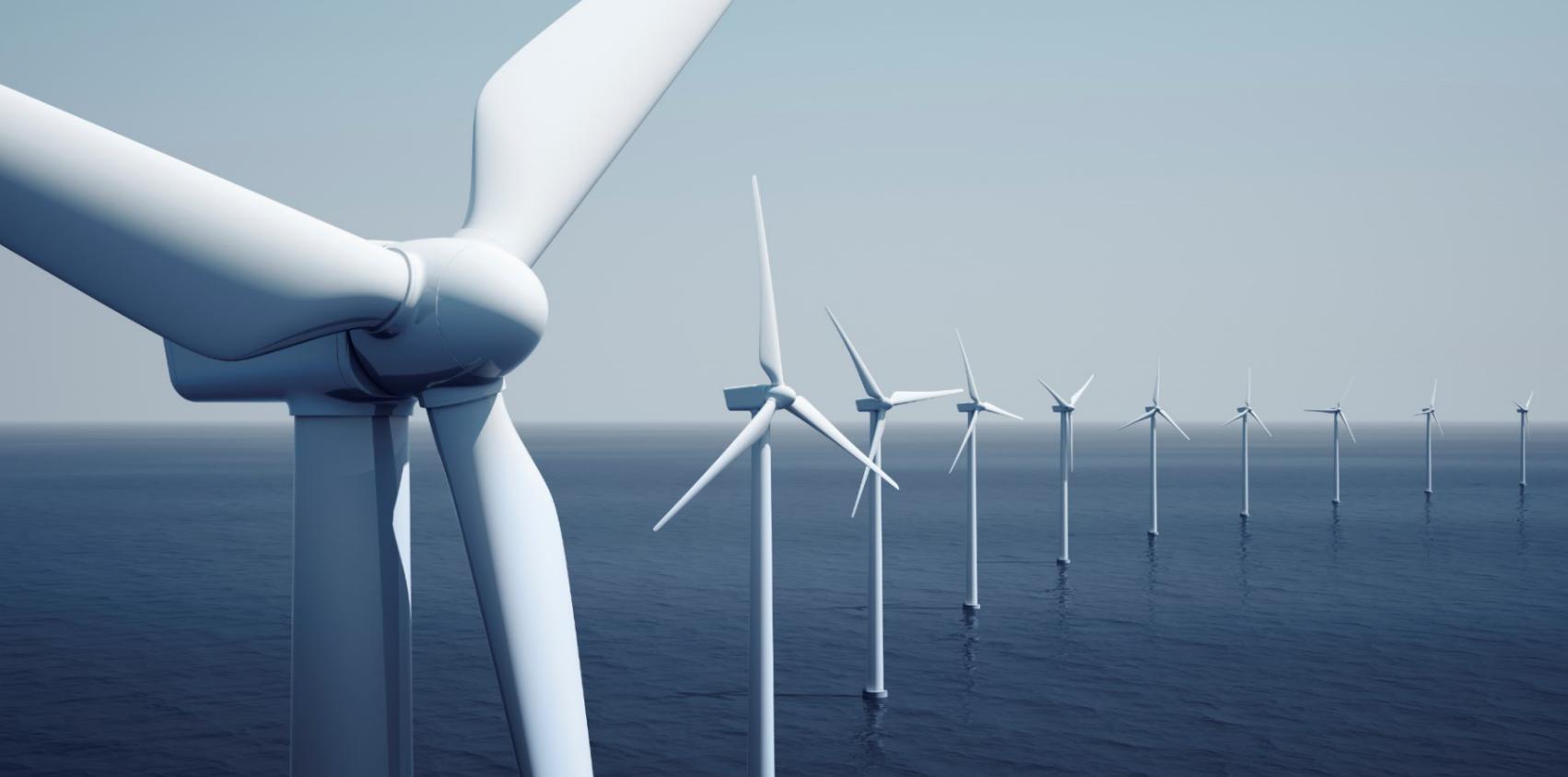Cuscinetti volventi di grande diametro e anelli nel settore dell'energia eolica