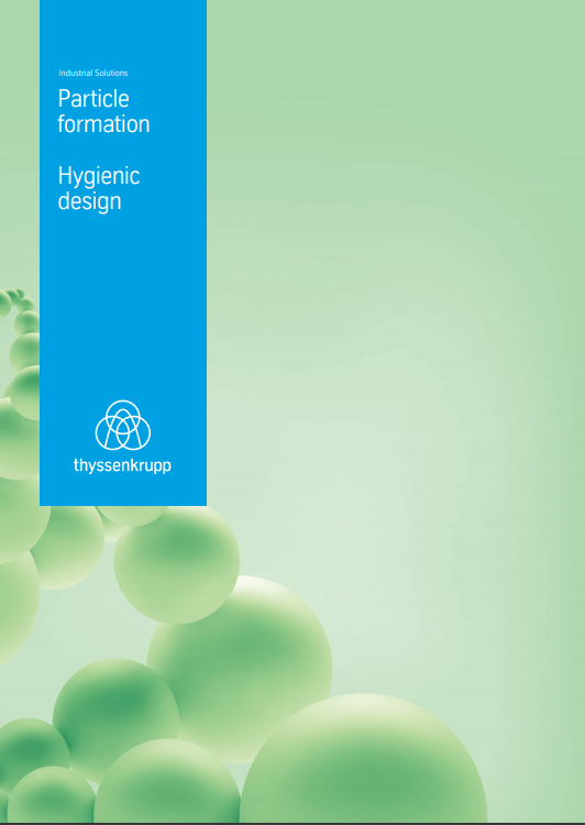 Particle formation - Hygienic design