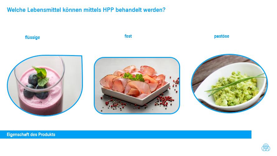 Welche Nahrungsmittel können mit HPP behandelt werden?