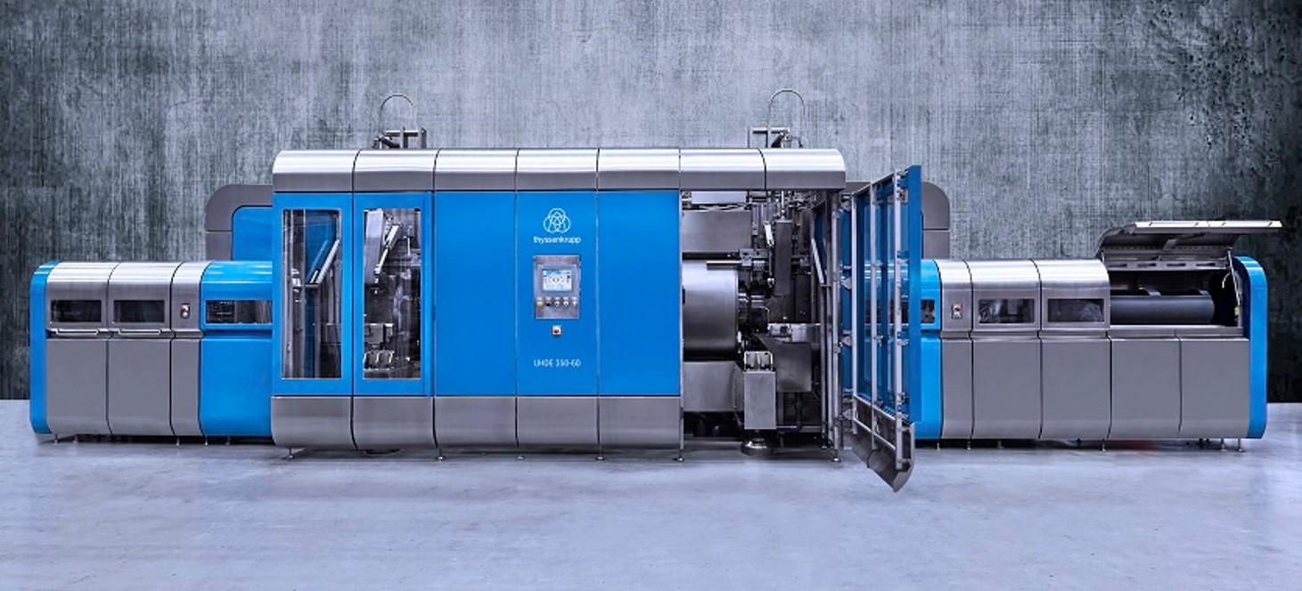 HPP-Maschine von thyssenkrupp