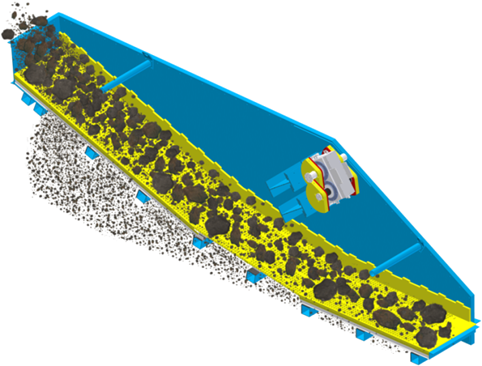 DU linear vibrating screens graphic