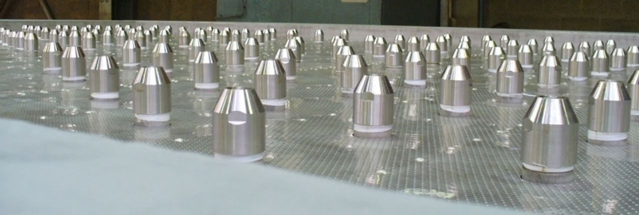 New generation UFT® low dust urea solution spray nozzles
