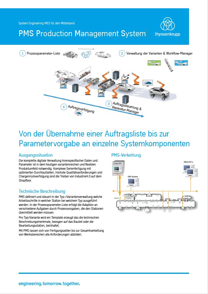 PMS Production Management System