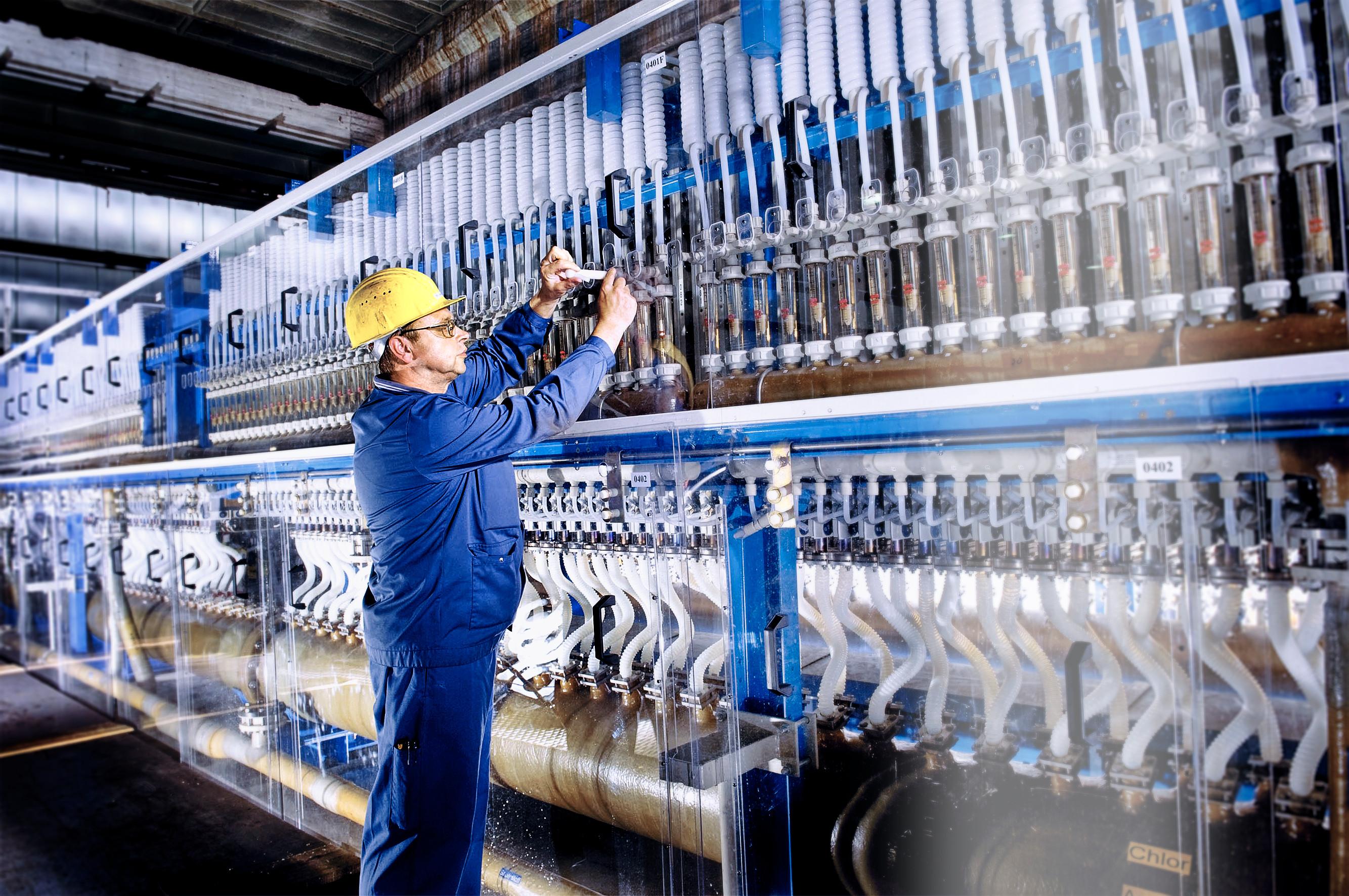 SVK-Technologie senkt Energieverbrauch und Emissionen in der Chlorproduktion